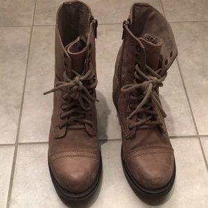 Steve Madden worker/combat boot